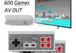 Назад в прошлое, приставка с 600 восьмибитными играми!