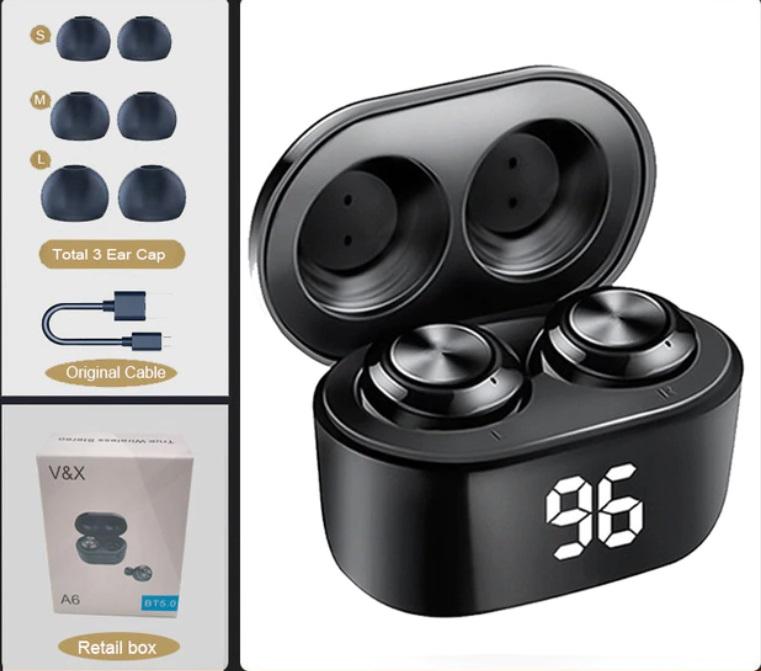 Отличная цена на беспроводные наушники для любого меломана, NBL TWS 5,0 Bluetooth